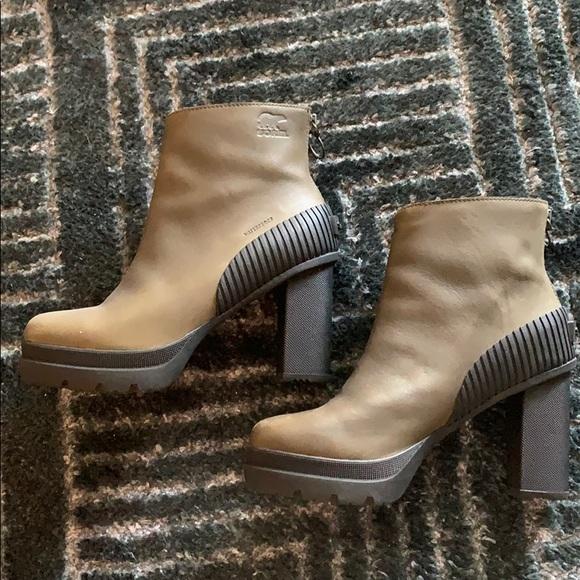 Sorel Waterproof Heeled Boots